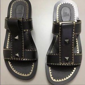 3e95a5c5826 Christian Louboutin Shoes - New Christian Louboutin Men spikes sandal sz 8